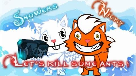 Happy Tree Friends - Kill Some ants - Suck it up, Remastered Version