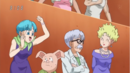 Bulma,Dr. Brief,Oolong y Panchy en Dream 9.png