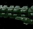 Klingonischer Militärfrachter