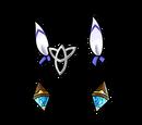 Crystal Miku Hairclip (Gear)