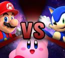 Mario vs Kirby vs Sonic