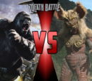King Kong vs King Caesar DEATH BATTLE!