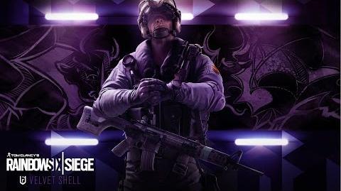 Tom Clancy's Rainbow Six Siege - Velvet Shell Jackal operator