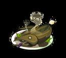 Anguille rôtie