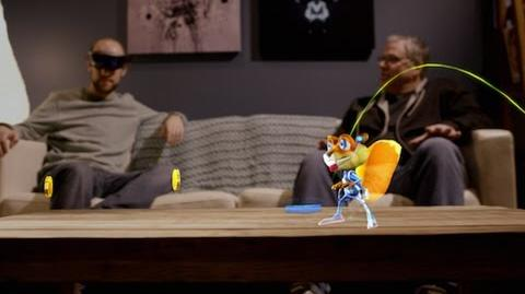 Microsoft HoloLens Young Conker