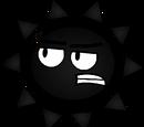 Black Spike Ball