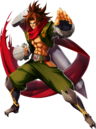 Bang Shishigami (Chronophantasma, Character Select Artwork).png
