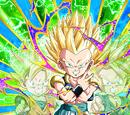 Devastating Fusion Power Super Saiyan Gotenks