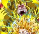 Inklings of Ultimate Power Super Saiyan 3 Goku (GT) (Golden Giant Ape)