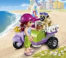 41306 Lo scooter da spiaggia di Mia