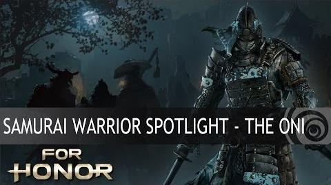 FOR HONOR - Samurai Warrior Spotlight - The Oni ES