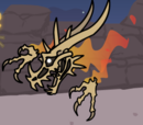 Flaming Fossil