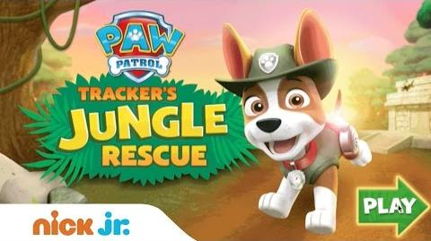 Play PAW Patrol 'Tracker's Jungle Rescue' for Free Games Nick Jr.