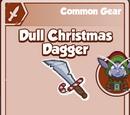 Dull Christmas Dagger