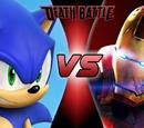 Sonic Vs Iron Man