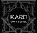 """K.A.R.D Project Vol.2 """"Don't Recall"""""""