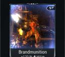Brandmunition