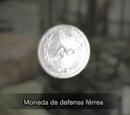Moneda de defensa férrea