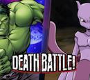 Hulk VS Mewtwo