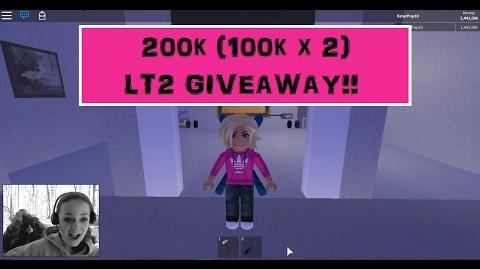 200k GiveAwAy!! (100k x 2) Lumber Tycoon 2