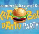 Krabby Patty Party