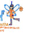 Bryhanna the New Year's Eve Party Fairy