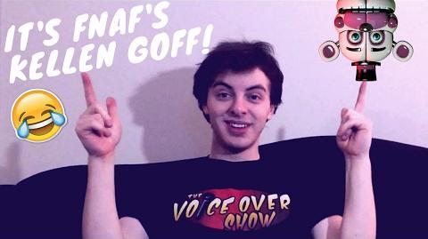 Meet The Voice of Funtime Freddy in FNAF Sister Location Kellen Goff!