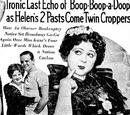 Ironic Last Echo of Boop-Boop-a-Doop