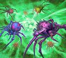 Parchemin : Araignées envahissantes