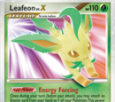 Leafeon Niv.X (Majestic Dawn TCG)