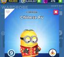 Chinese Fu Minion Costume