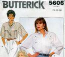 Butterick 5606 B