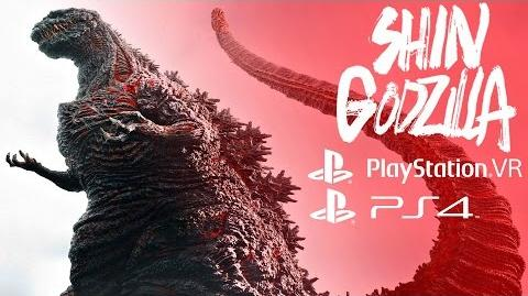 Shin Godzilla (PS4) - Gameplay Demo Walkthrough Virtual Reality 1080p 60fps PS VR
