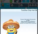 Tortilla Chip Hat Minion Costume