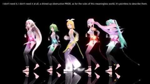 --ENGLISH SUBS-- Pomp and Circumstance -MMD- (If You Do Do) IA, Luka, Miku, Gumi, Len & Rin