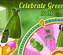 Celebrate Greenery Spree Spinner