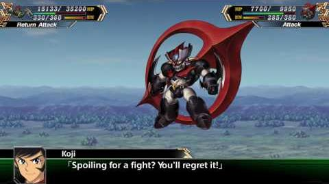 Super Robot Taisen V(ENG) Mazinger Zero All attacks