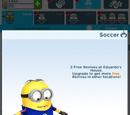 Soccer Minion Costume