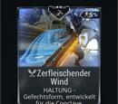 Zerfleischender Wind