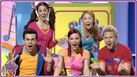 Hi-5 House Series 1, Episode 1 (Explore my space)