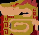 Espejo Invictus Desert Lagiacrus