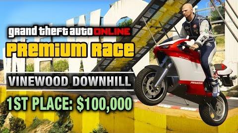 Stunt - Vinewood Downhill