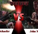 Dutch Schaefer vs. John Matrix