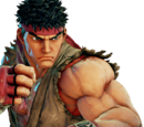 Street Fighter - The New Challengers Characters