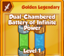 Dual-Chambered Battery of Infinite Power (Golden Legendary)
