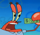 Mr. Krubby Krabby's Millionth Dollar