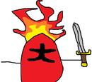 Jake The Flaming Potato Warrior