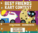 Best Friends Kart Contest Winners!
