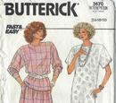 Butterick 3670 B