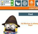 Dad Minion Costume